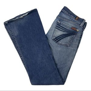 7 for All Mankind Dojo Jeans Size 27 x 32